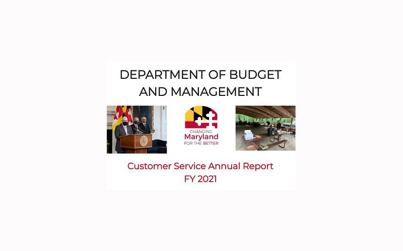 FY21 DBM Customer Service Annual Report