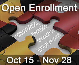 Open Enrollment Oct 15 - Nov 28 with link to Benefits Guide