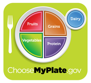 My Plate from USDA