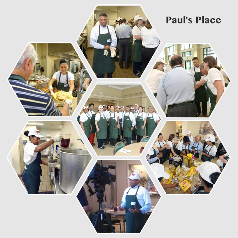 DHR Employees Volunteer at Paul's Place