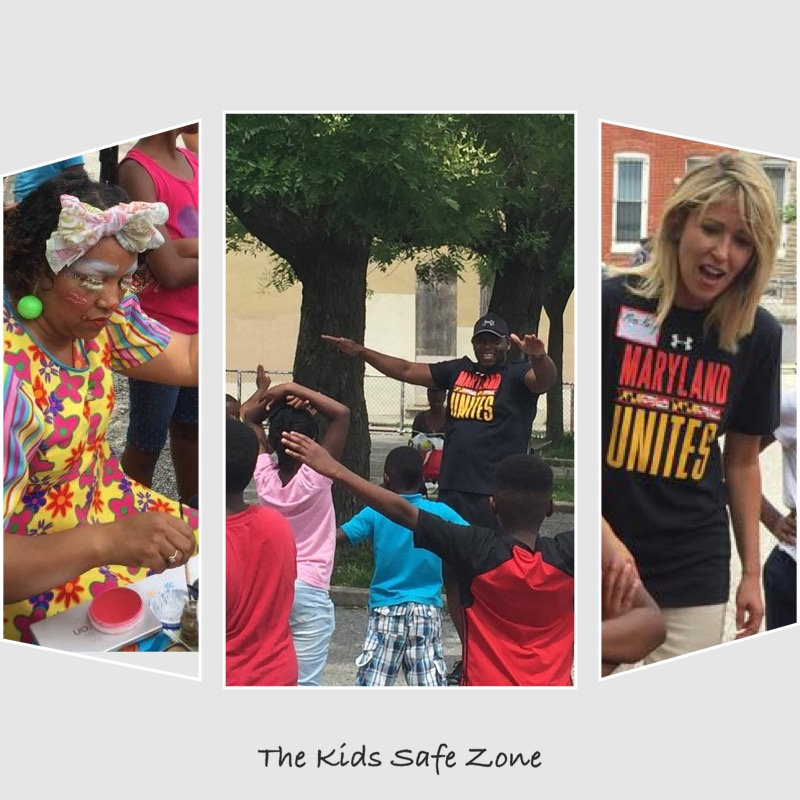 DLLR Employees Volunteer at The Kids Safe Zone