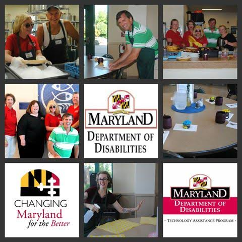 Department of Disabilities Employees Volunteer at Our Daily Bread in Baltimore