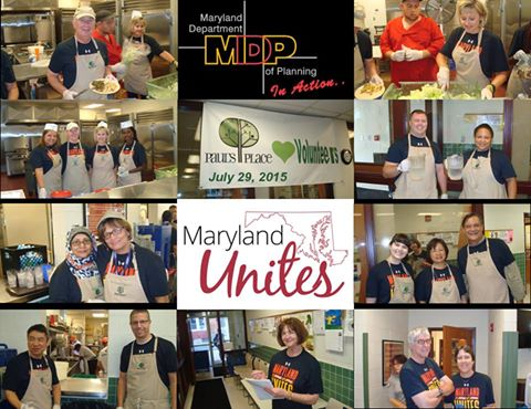 MDP Employees Volunteer at Paul's Place