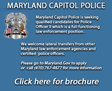 Maryland Capitol Police, Click for brochure